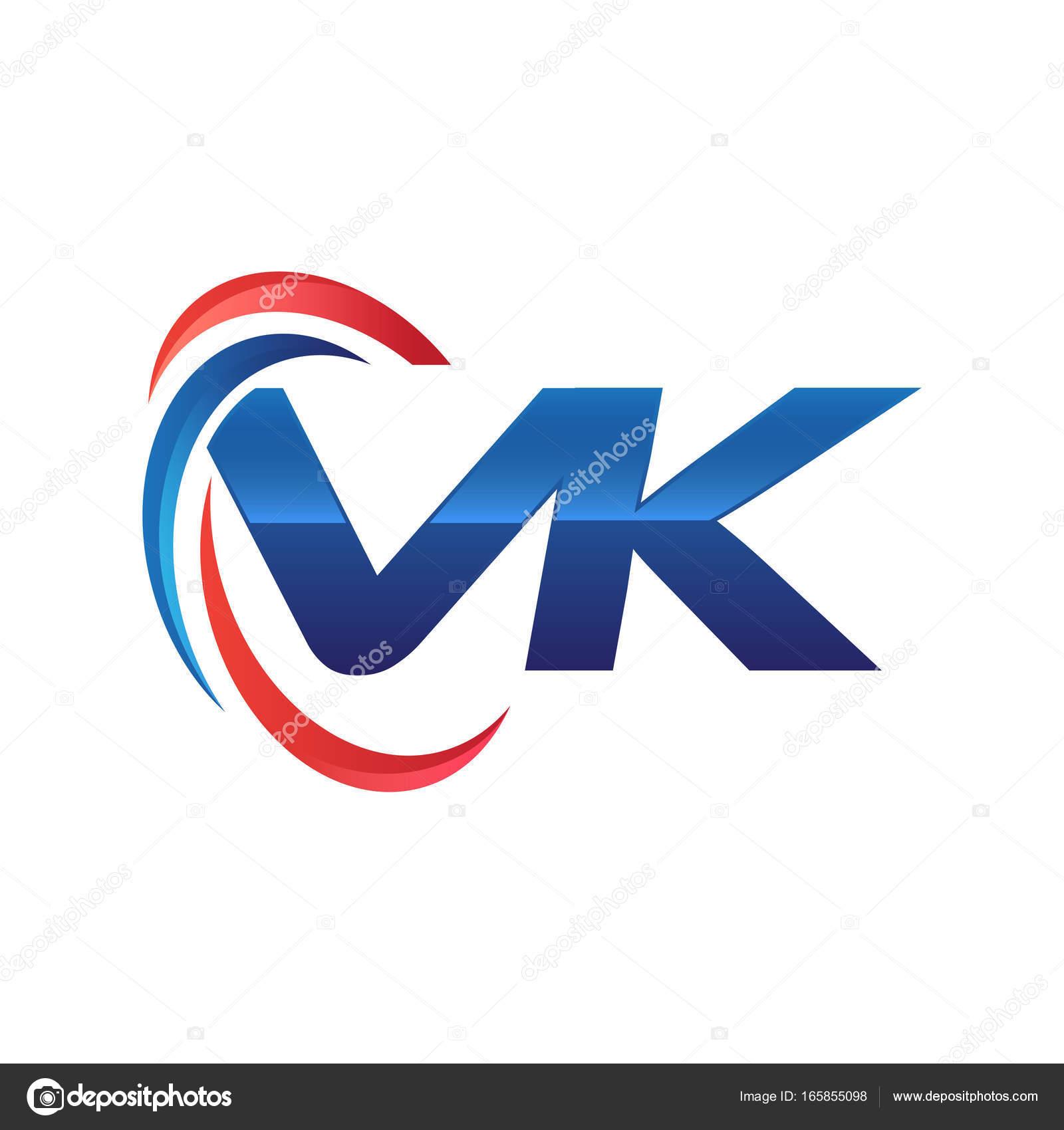 initial letter logo swoosh red blue stock vector khuluk 165855098 rh depositphotos com swoosh logos answers swoosh logo maker