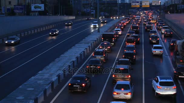 éjszakai közlekedési dugó