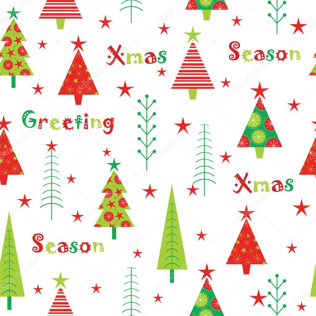 白い背景の壁紙ポストカードメモ用紙に適しての赤と緑のクリスマス