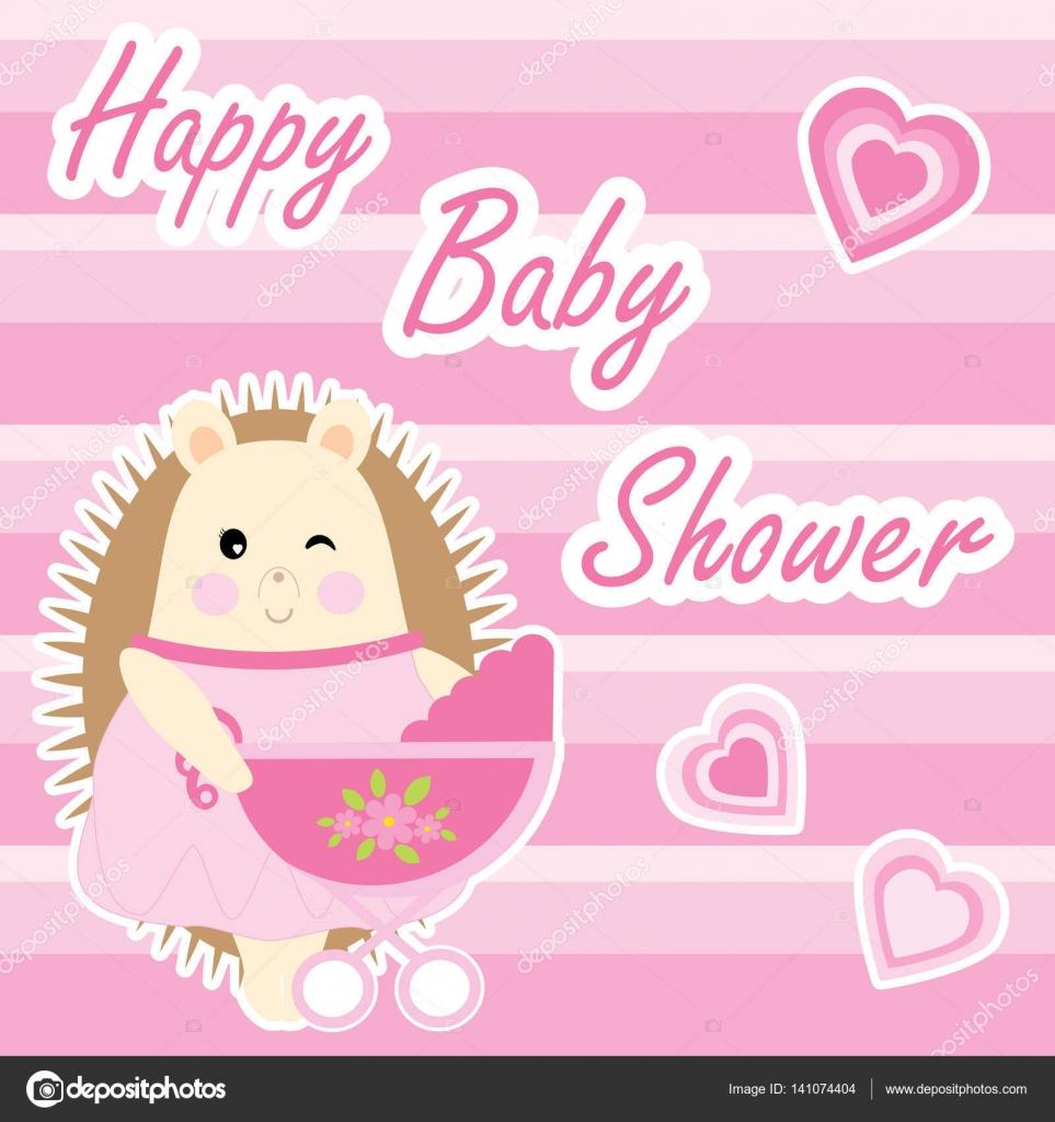 Tarjetas Invitacion Baby Shower Niña Para Imprimir Tarjeta