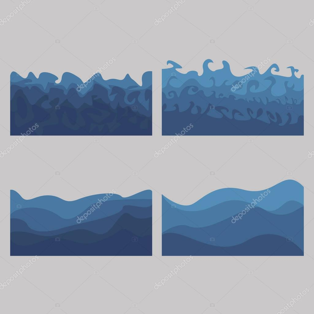 set of ocean