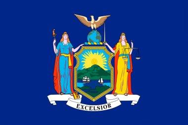 Flag of New York, USA