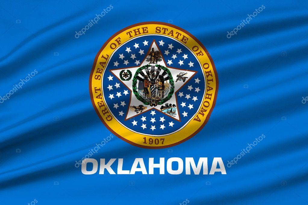 Flag Of Oklahoma Usa Stock Photo Diquebk 127557560