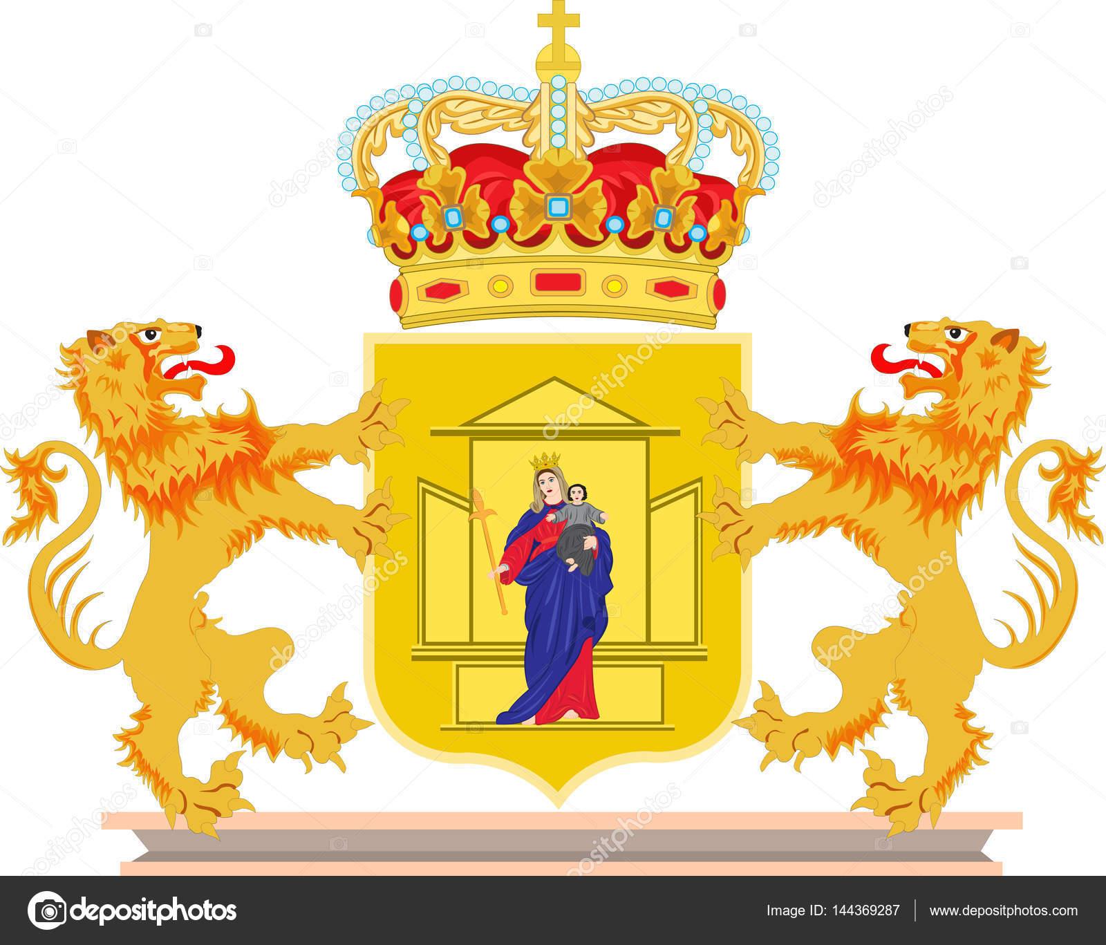 オランダのドレンテ州の紋章付き...