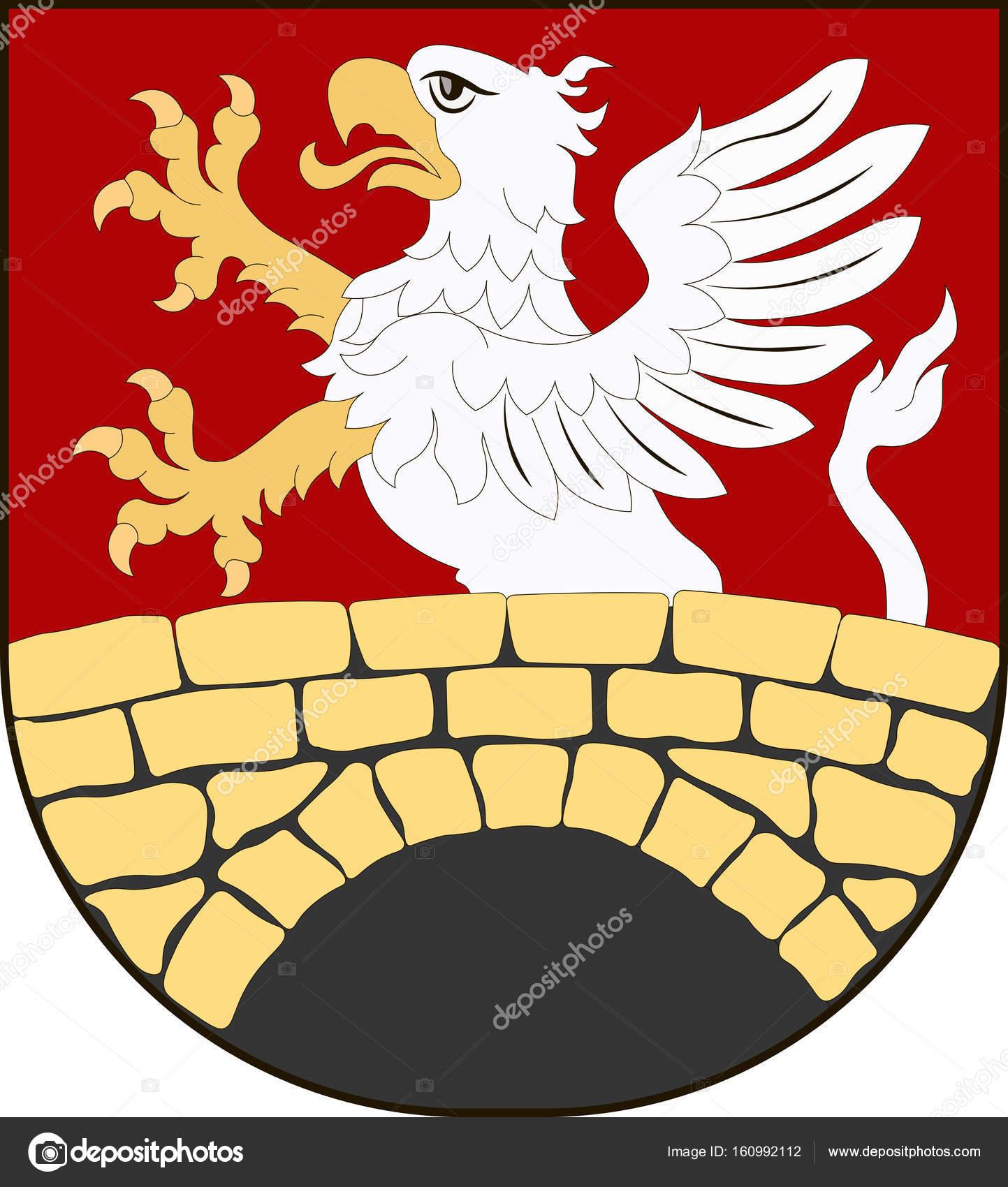 Capa de brazos de Gmina Zamosc en Lublin Voivodeship de Polonia ...