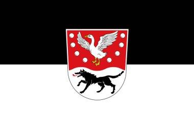 Flag of Prignitz in Brandenburg, Germany