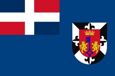 Flag of Distrito Nacional in Dominican Republic