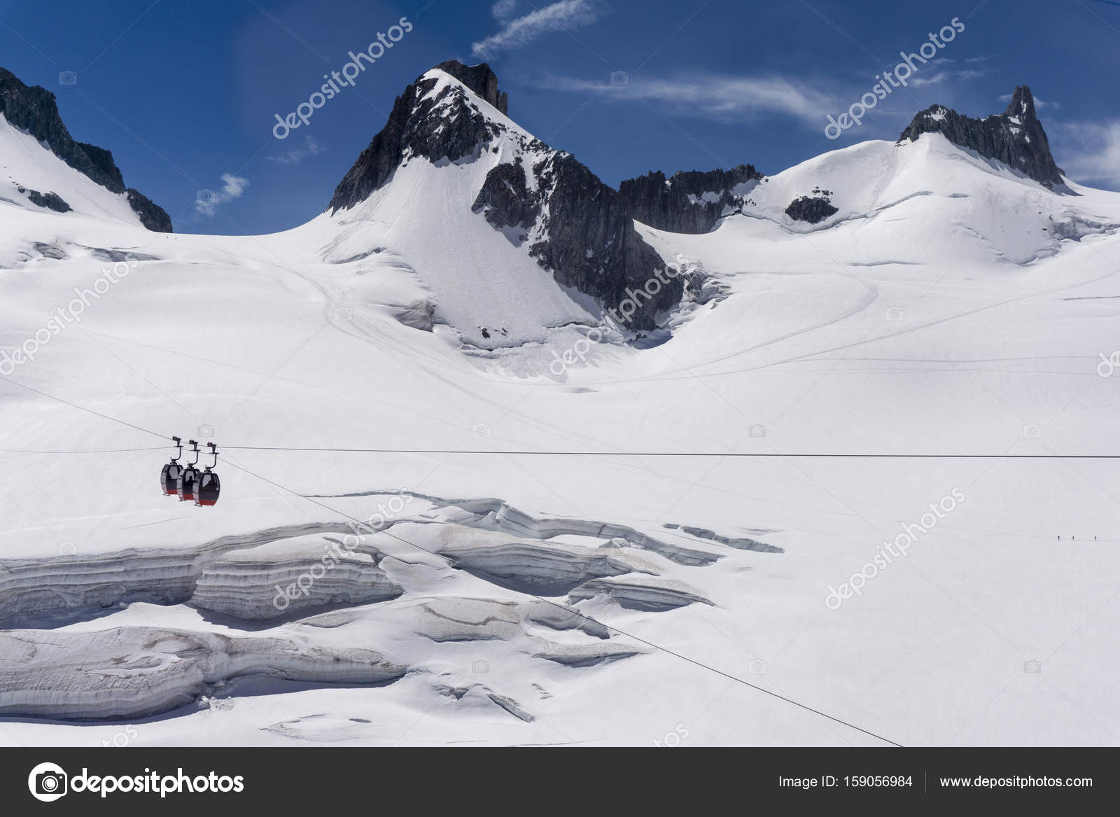 Beautiful Snowy Mountain Landscape In The Alps Photo By Photopulse