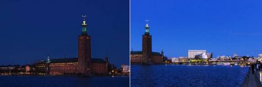 View of the Stockholm City Hall