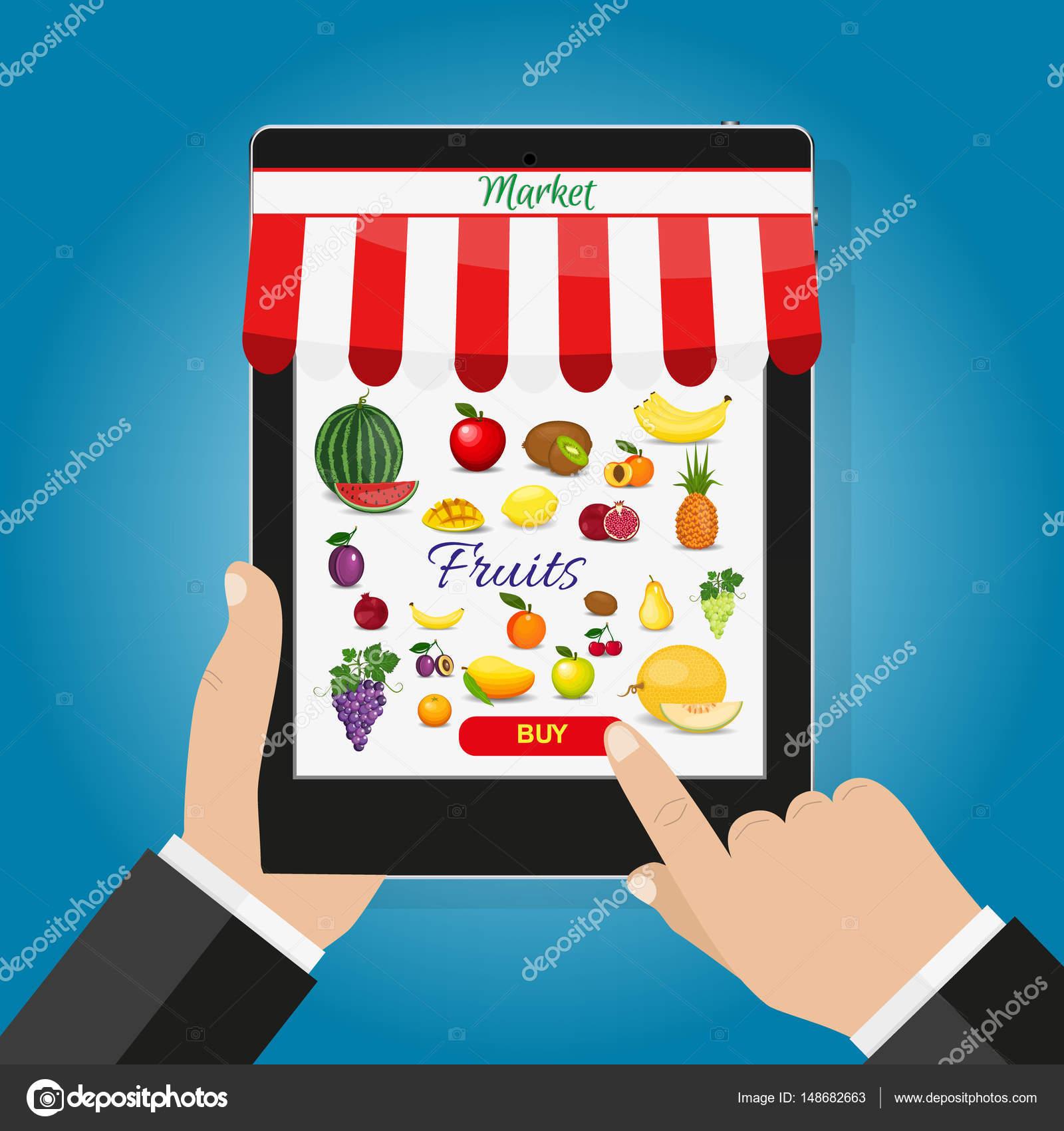 Mobil Tablet Tutarak Ve Ekran Dokunaklı El Yiyecek Sipariş şimdi