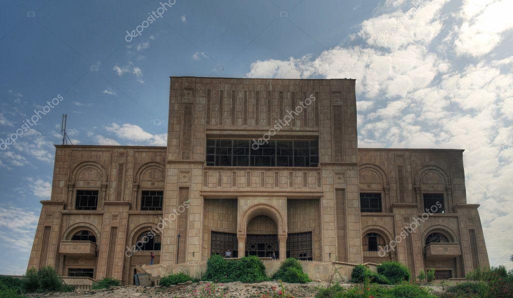 Former Saddam Hussein Palace, Babylon, Iraq — Stock Photo ...