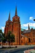 Außenansicht nach Roskilde Kathedrale, Dänemark