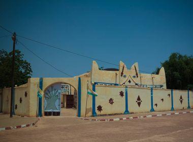 """Картина, постер, плакат, фотообои """"вид на резиденцию доссо султана, нигер """", артикул 185633266"""