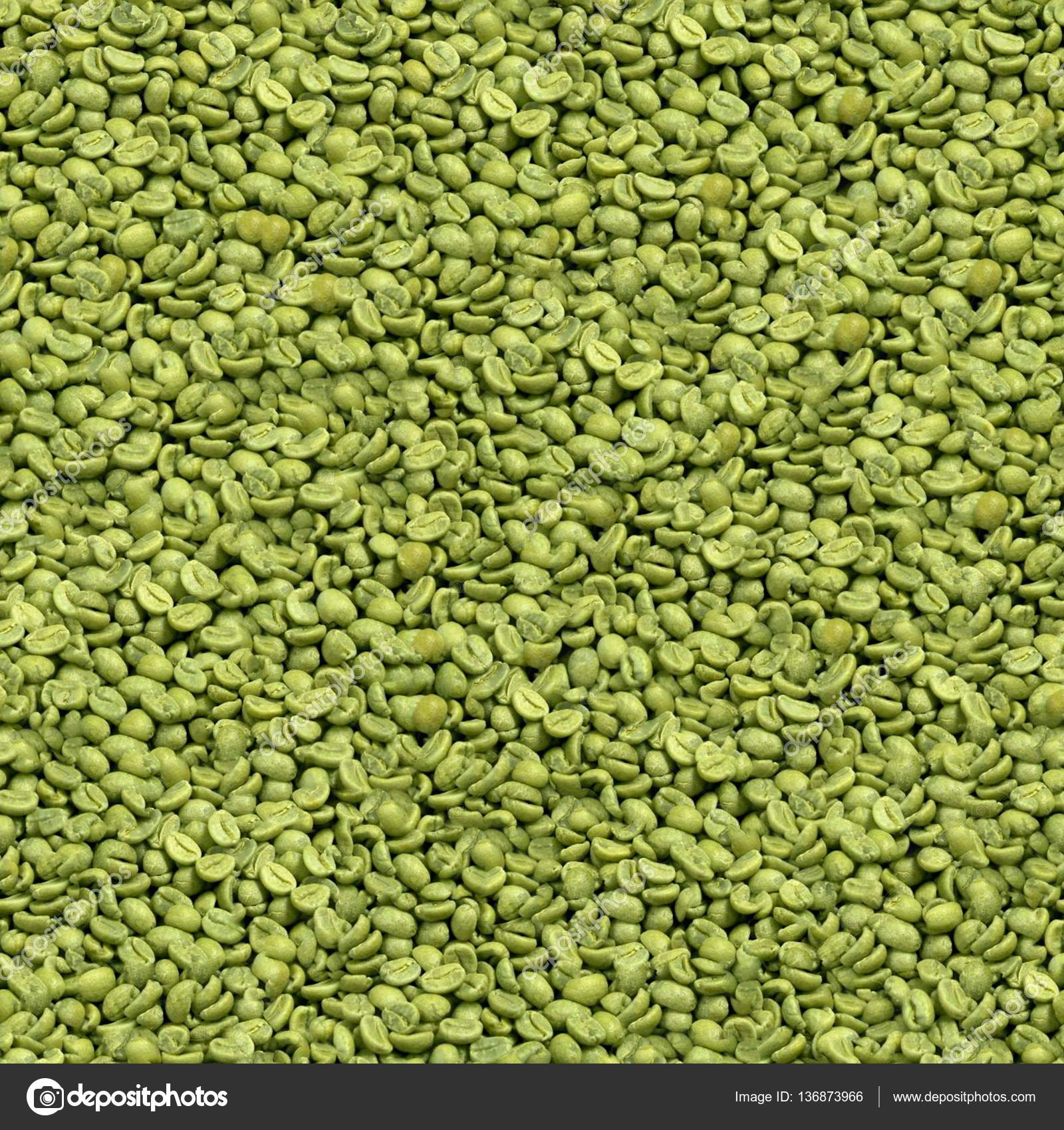 Seamless Green Coffee Beans Stock Photo C Bunmihail 136873966