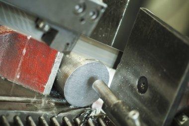 metalworking machine at work