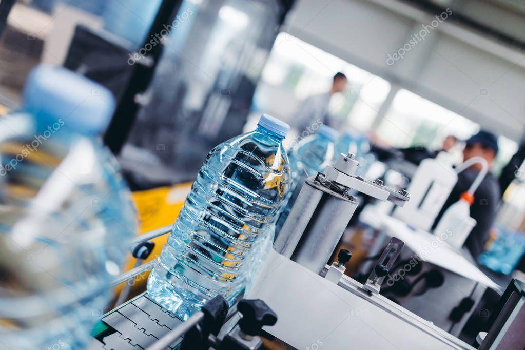 Robotic factory line