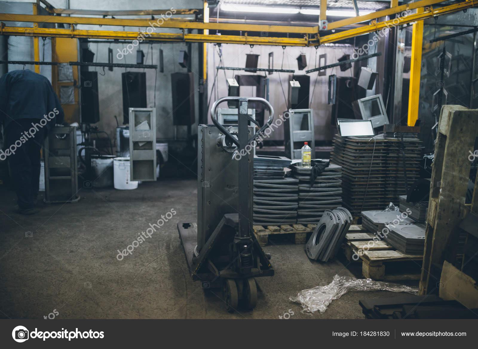 Ind Stria Metalurgia F Brica Para Produ O Fog Es Pelota Pesado