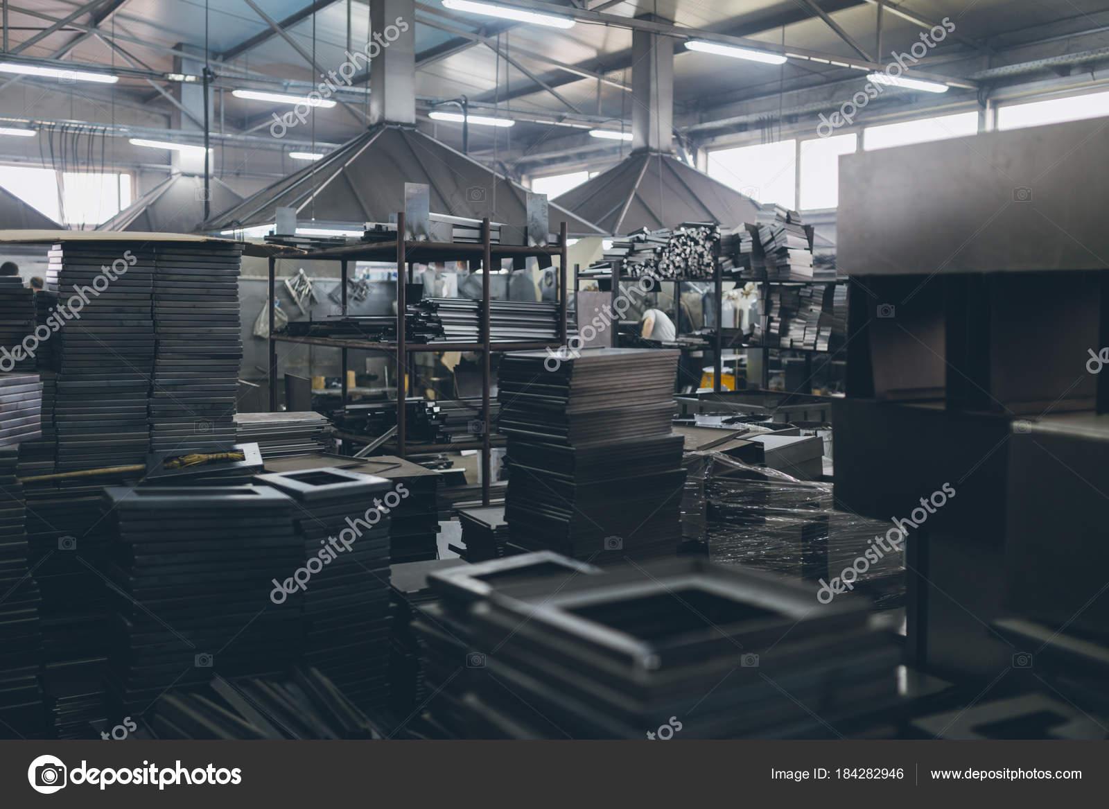 Ind Stria Metalurgia Detalhes Interior F Brica Para Produ O Fog Es