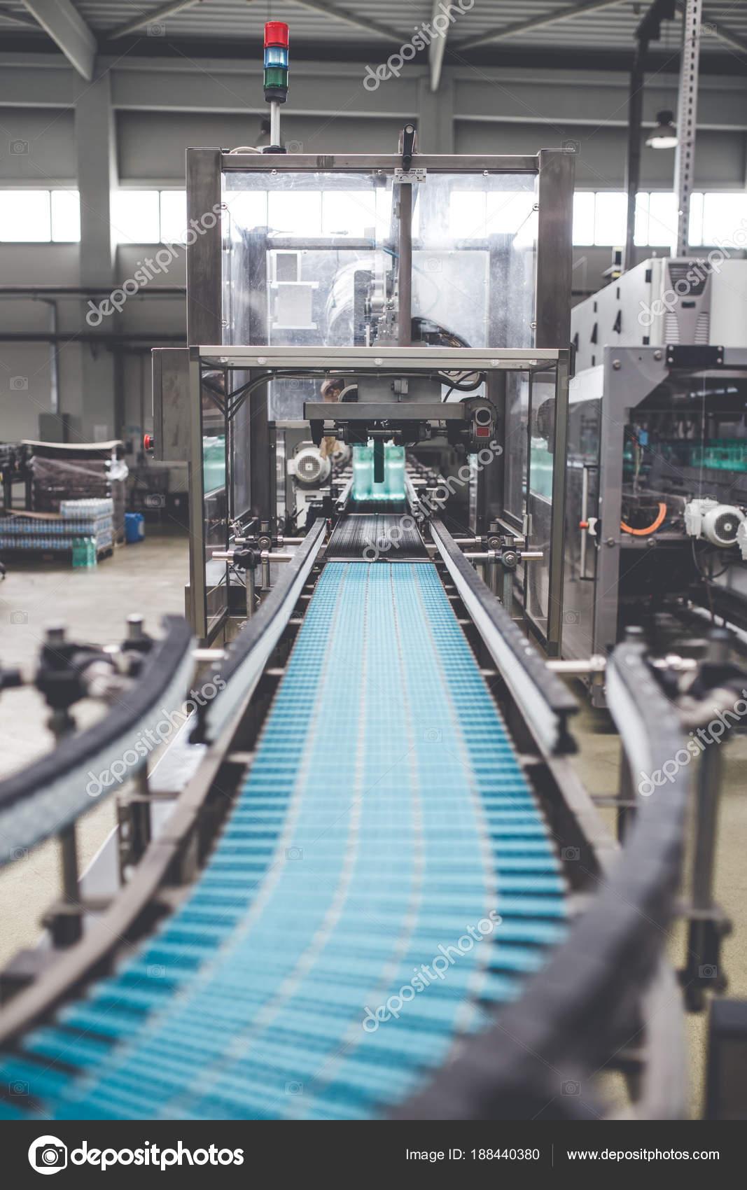 Bottling Plant Water Bottling Line Processing Bottling Pure