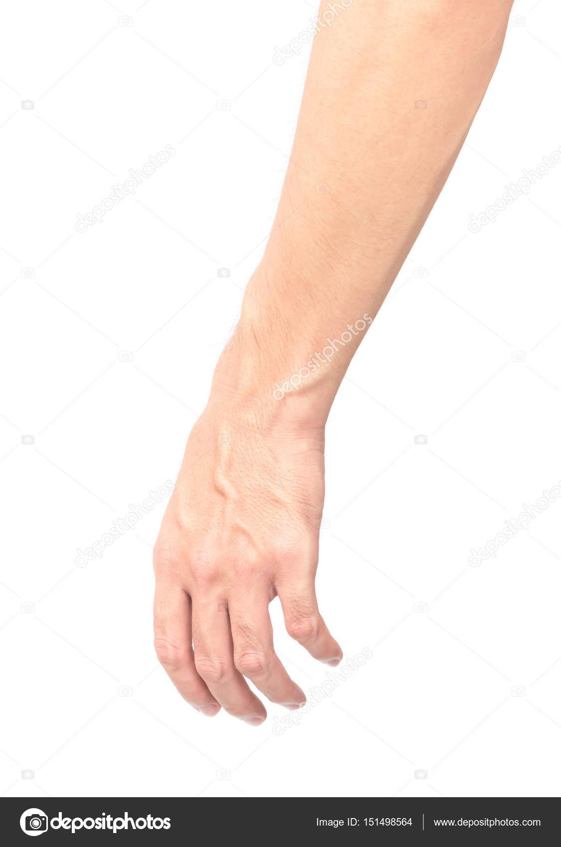 unterarm mann