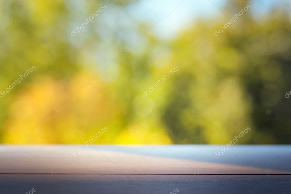 blurred outdoor backgrounds. Simple Outdoor Wood Table Top On Colorful Blurred Abstract Outdoor Background Soft Image  U2014 Stock Photo Inside Blurred Outdoor Backgrounds O