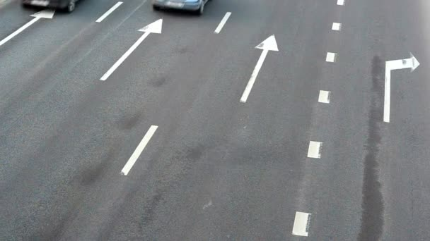 Highway traffic Real time shot