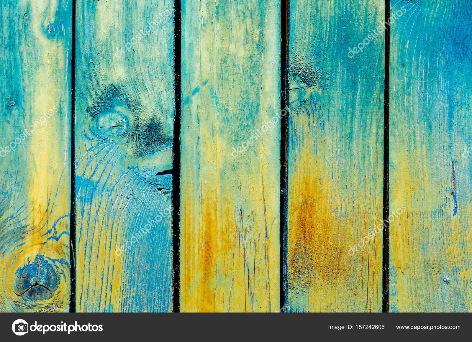 Old painted wood background — Stock Photo © V_Sot #157242606