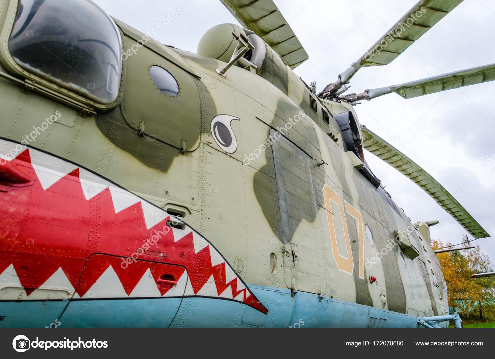 Fragmento del casco de helicóptero — Foto editorial de stock © V_Sot ...