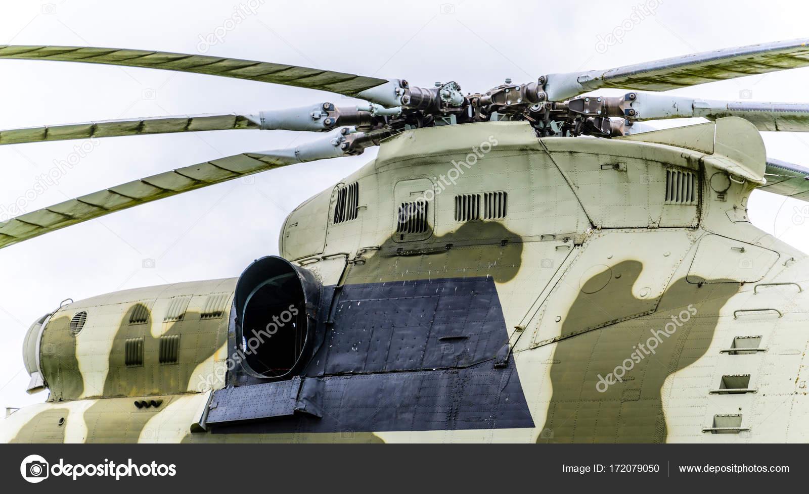 Fragmento del casco de helicóptero — Fotos de Stock © V_Sot #172079050