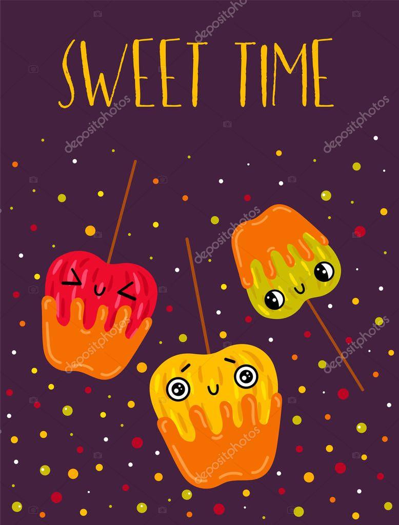 Postcard sweet time