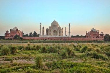 Mehtab Bagh Sunset of Taj Mahal