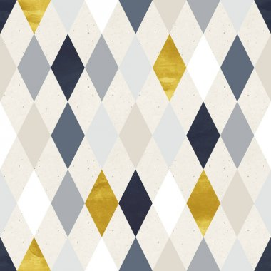 geometric pattern with rhombs