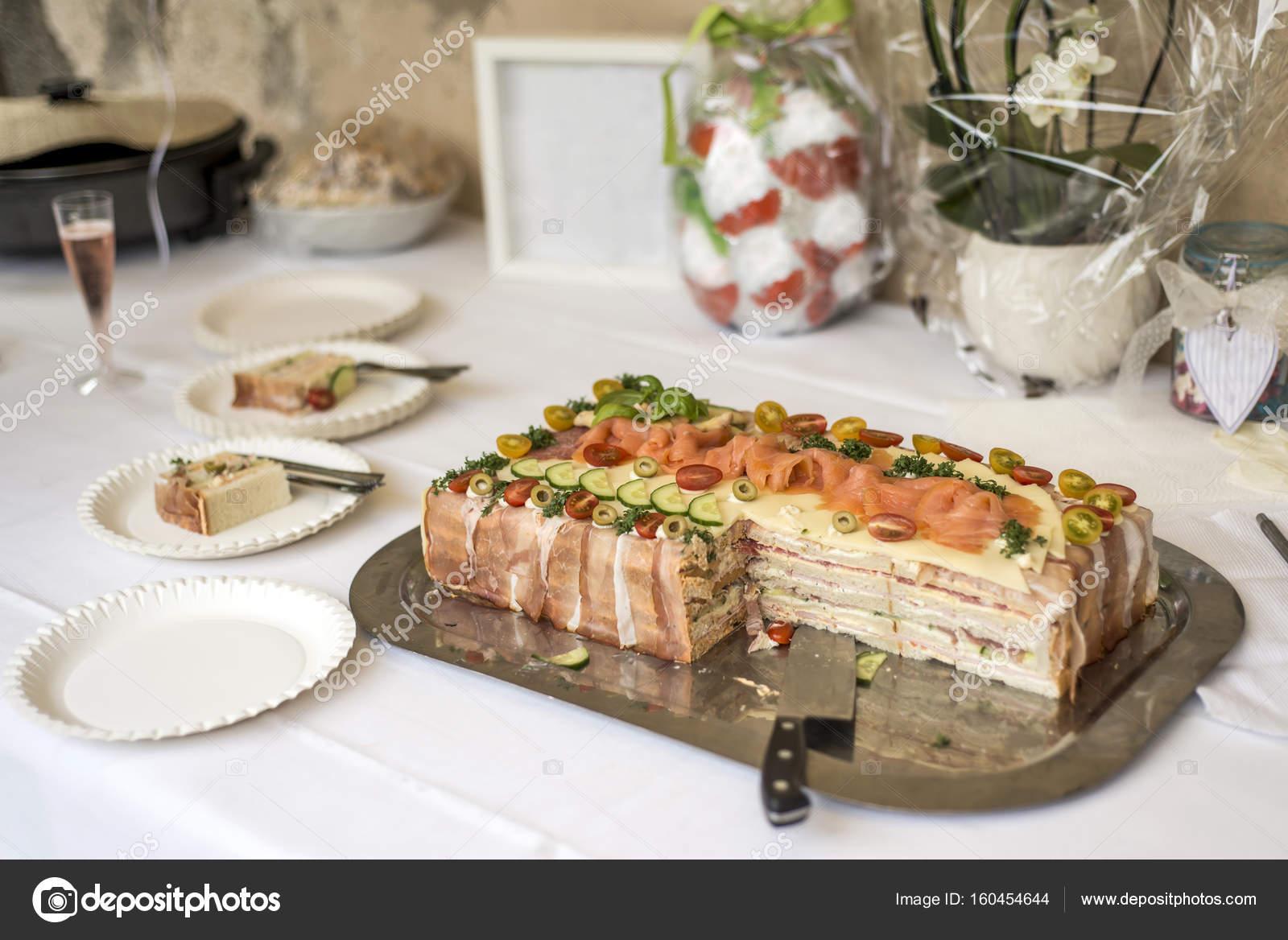 Sandwich Cake Au Jambon