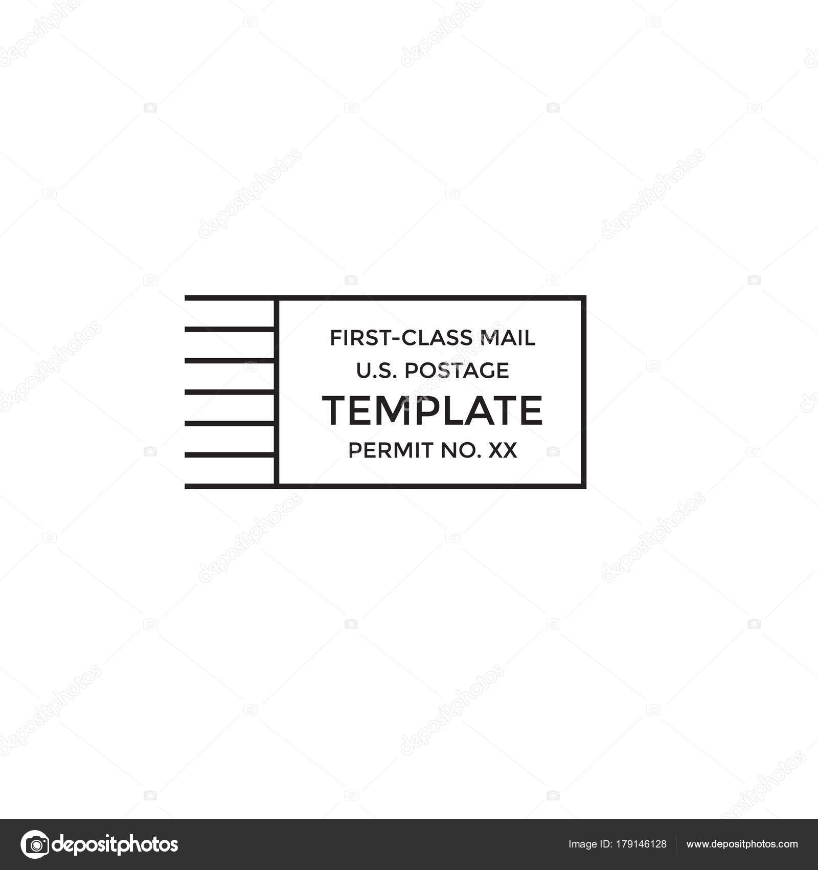 Cancelación Postal correo de primera clase marca portes pagados ...