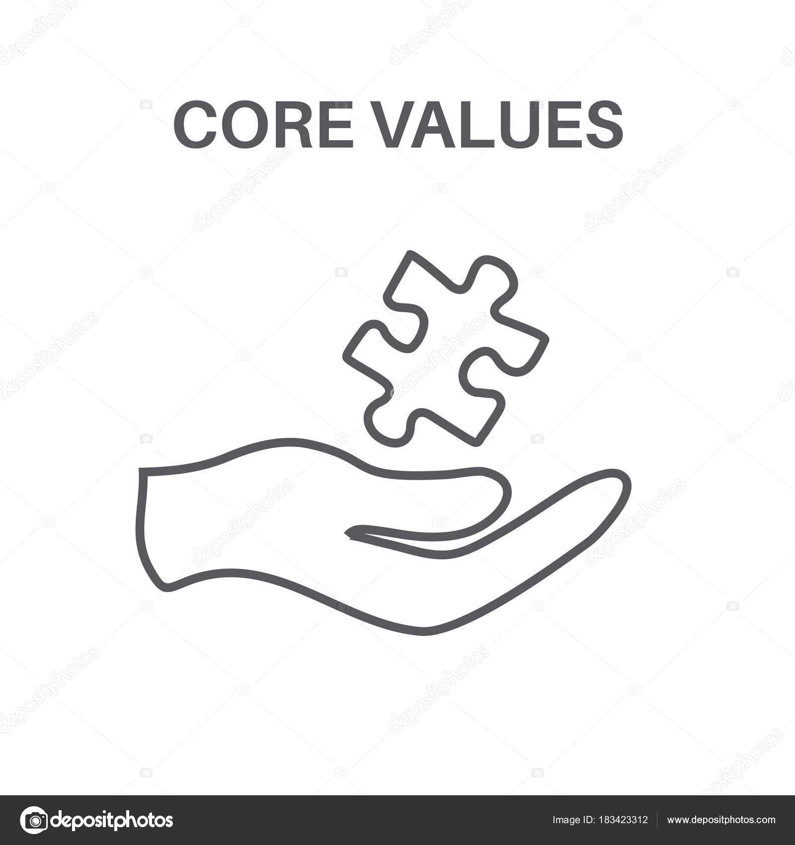 Valores Con La Imagen De Responsabilidad Social ética Empresarial