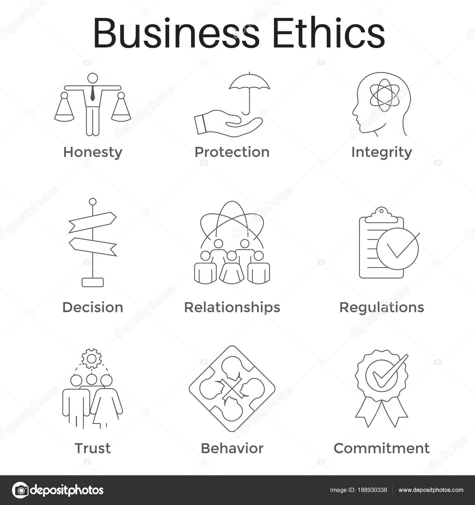 Dibujos Etica Y Moral Para Colorear ética Empresarial Esquema