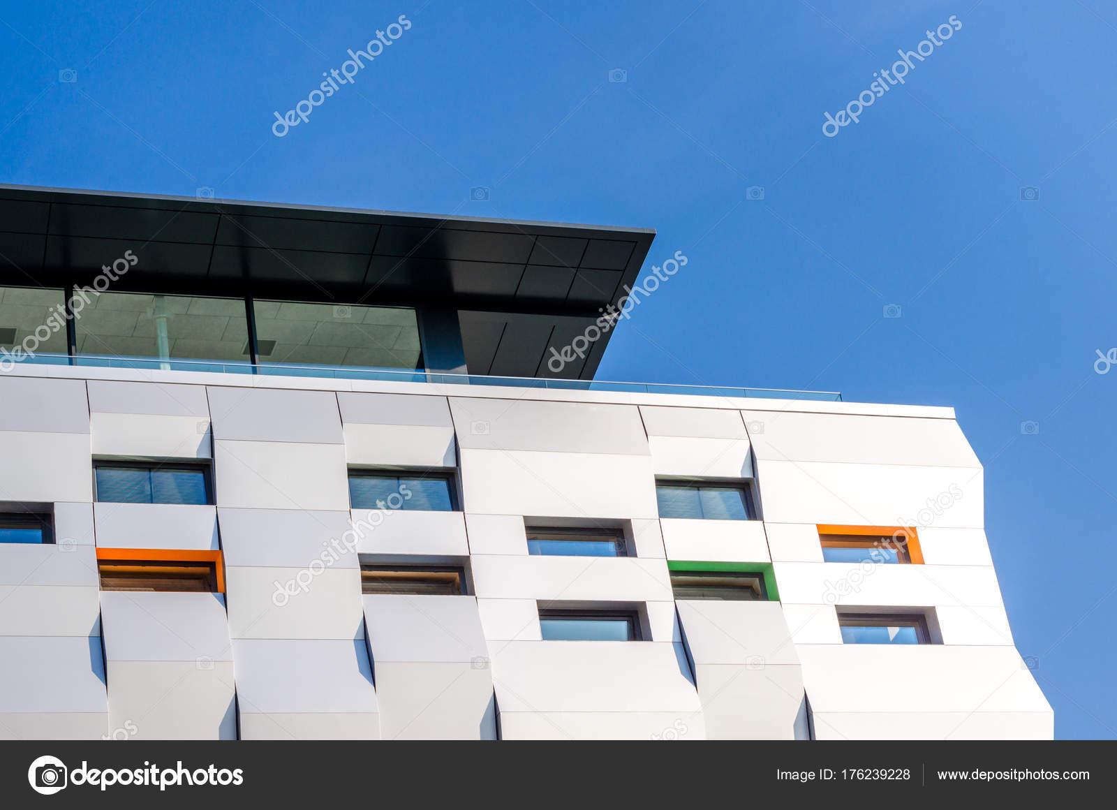 Moderne Architektur Eines Gebäudes Osteuropa Moderne Architektur Der ...