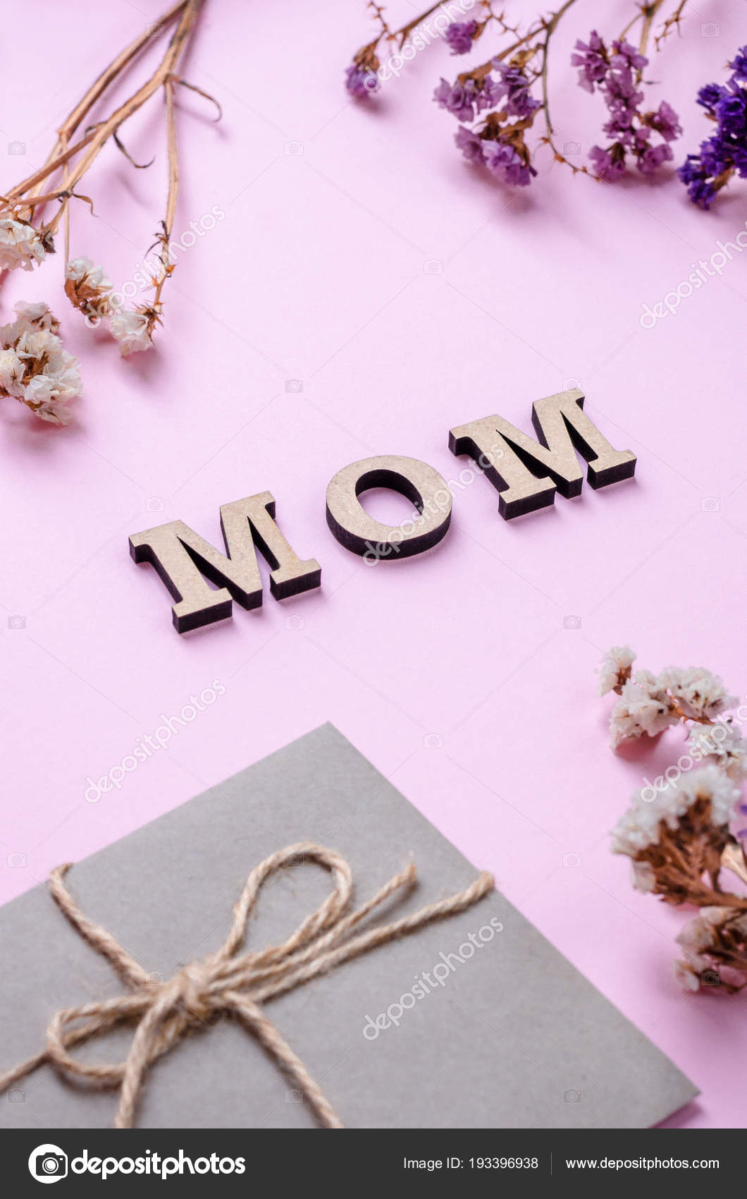 Decorative Letter Mother Day Mom Letter Envelopes Message Present