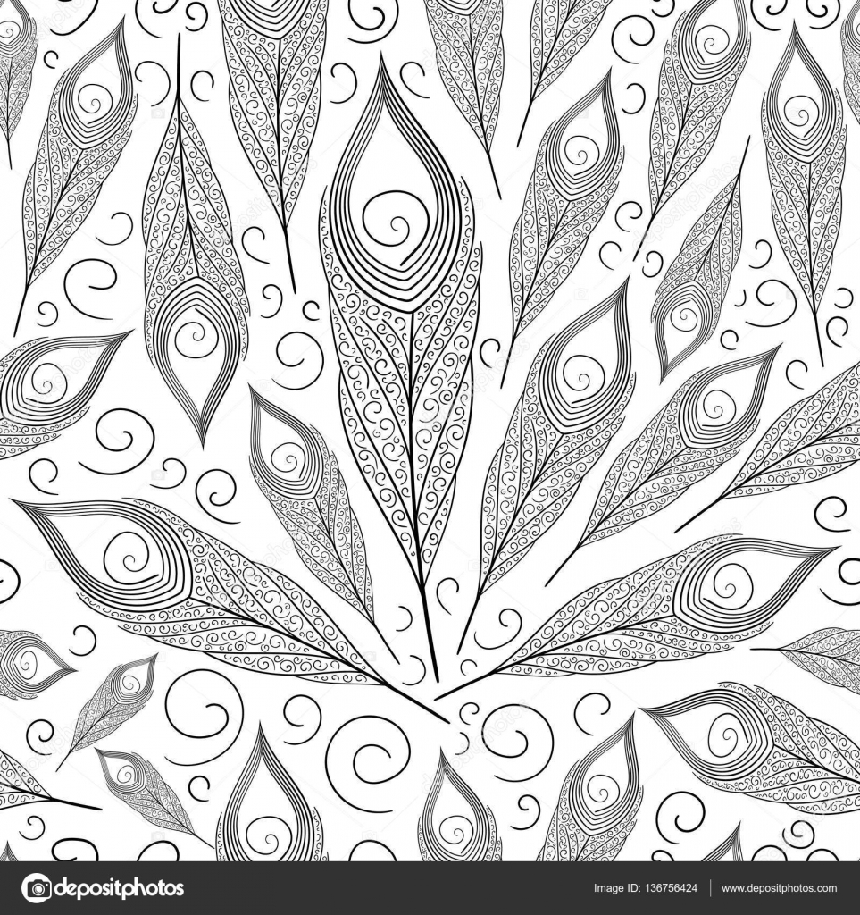 design for background wallpaper coloring book wrapping paper or decoration elements vector by irinelle - Coloring Book Paper Stock