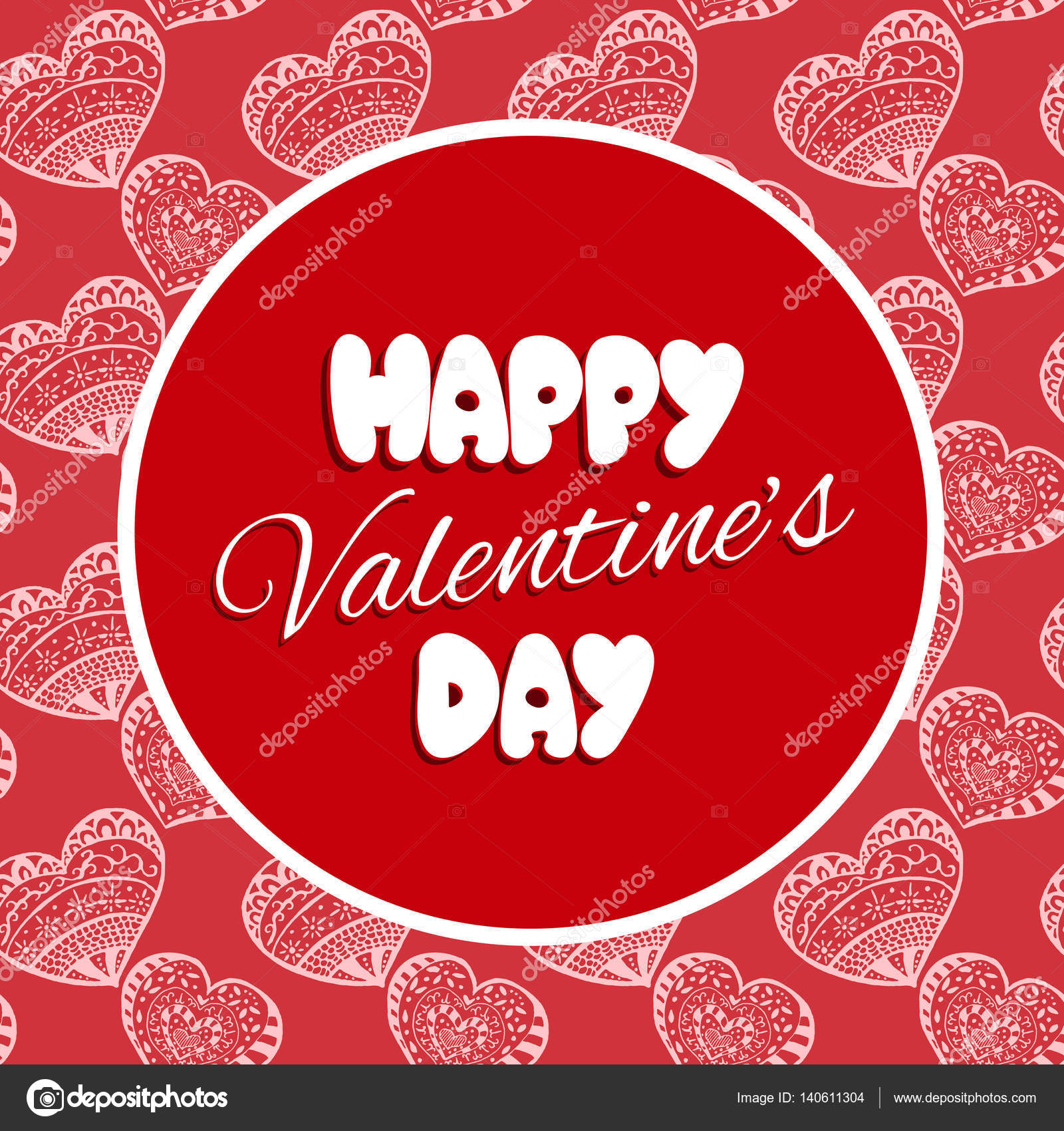 Valentine Tag Karte Vorlage Vektor — Stockvektor © irinelle #140611304