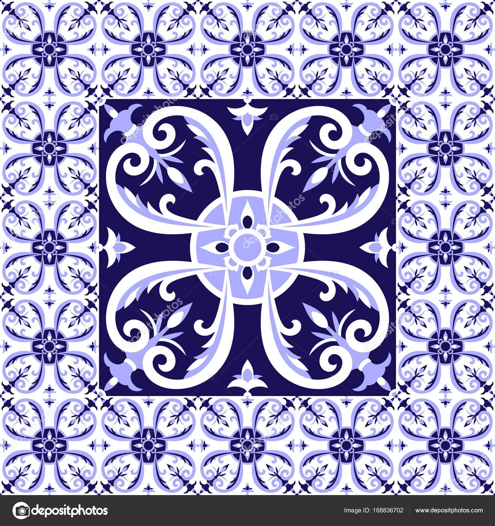 Great 16X32 Ceiling Tiles Thick 18 Inch Floor Tile Solid 18 X 18 Ceramic Tile 20 X 20 Floor Tile Patterns Young 24 X 24 Ceiling Tiles Blue3 X 12 Subway Tile Arabic White Blue Tiles Floor Pattern Vector \u2014 Stock Vector ..