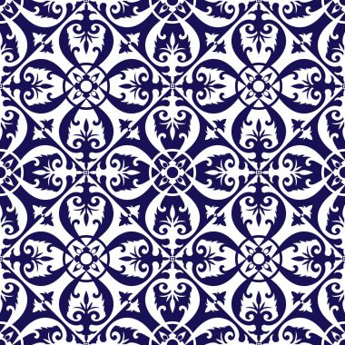 Floor tiles pattern vector