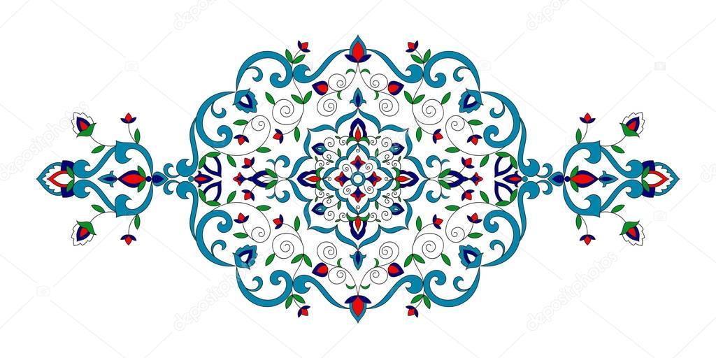 Floral Pattern Vector Islam Ornament With Flowers Motifs Arabic Background For Ramadan Kareem Eid Mubarak Greeting Card Turkish Delight Label Packaging Luxury Wedding Invitation Or Spa Beauty Premium Vector In Adobe