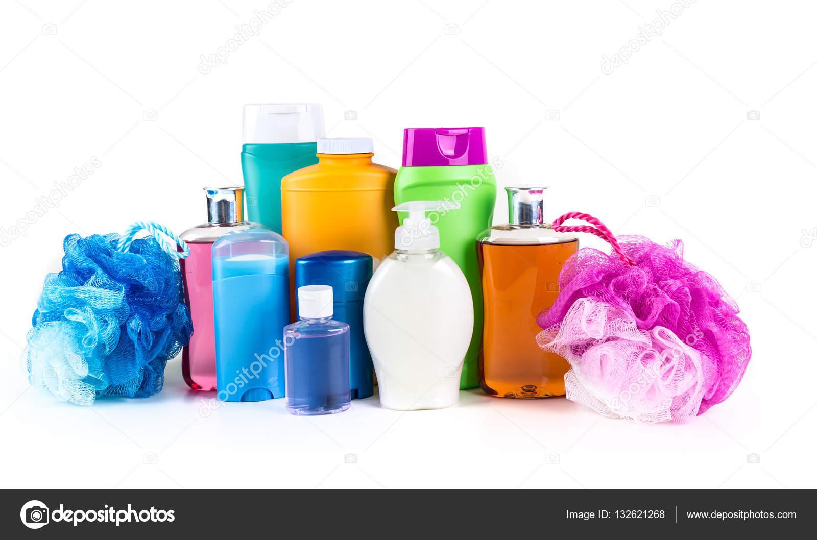 Prodotti Per Il Bagno.Prodotti Bagno E Corpo Generici Assortiti Foto Stock