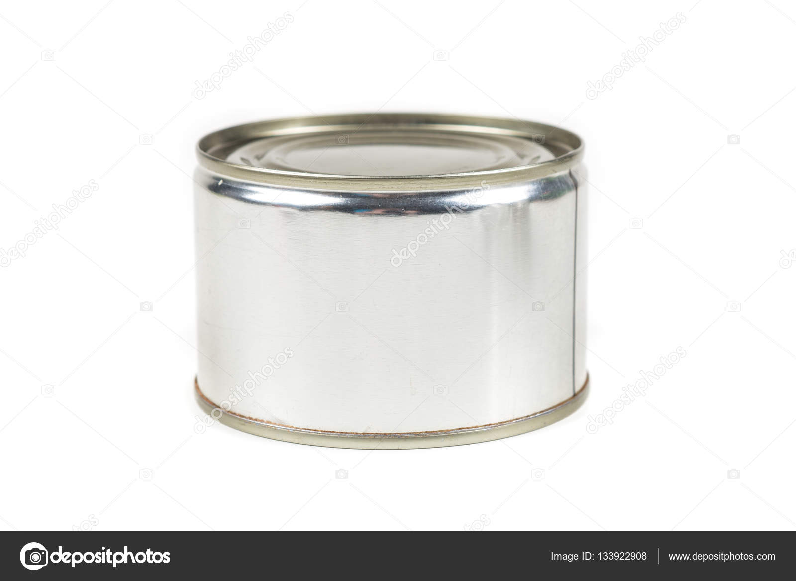 One small tin can i  Stock Photo #133922908