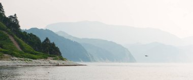 Kunashir - island of Kuriles