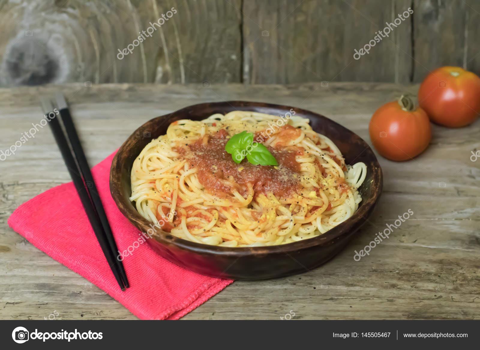 Marinara Soslu Spagetti