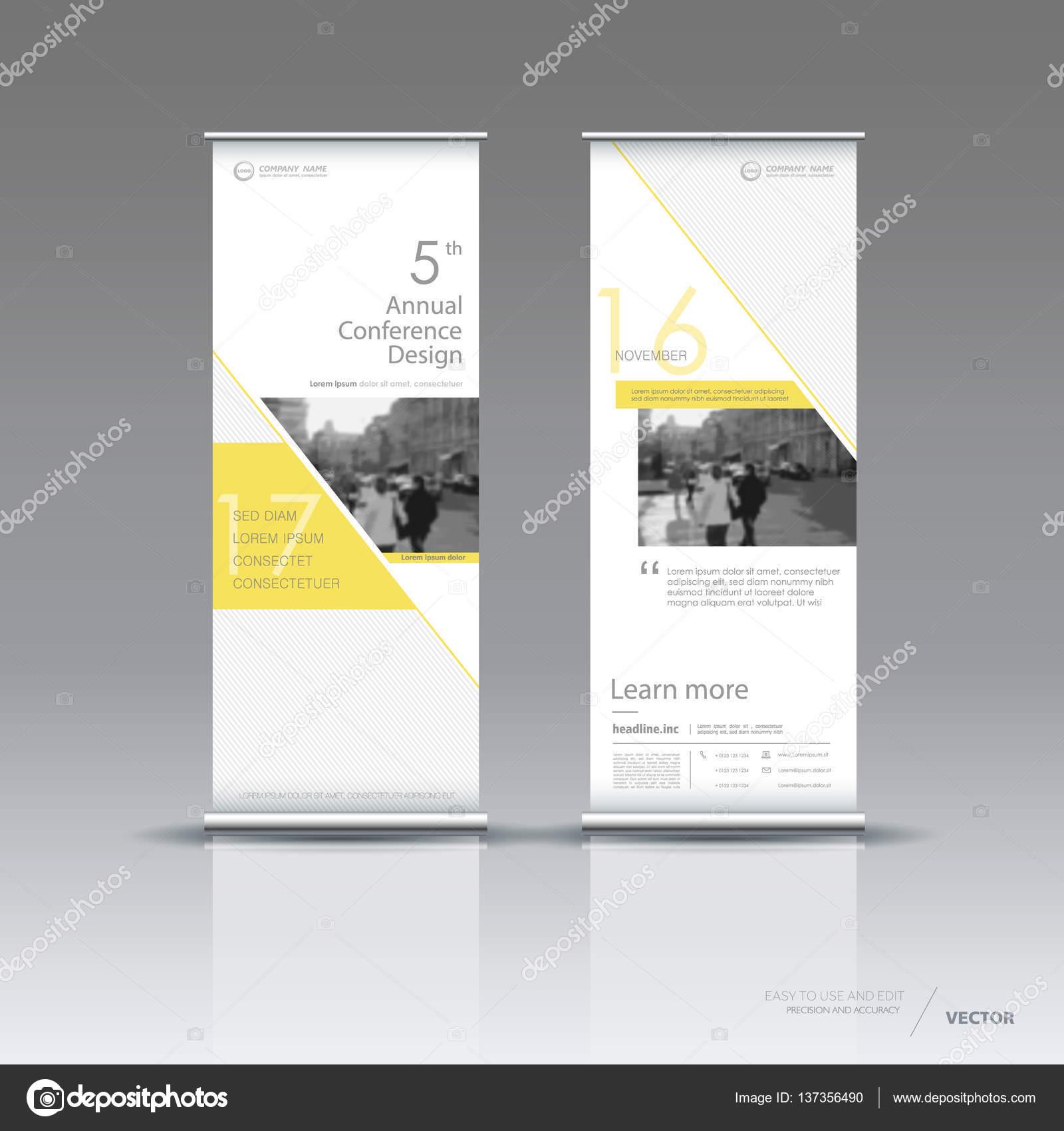 Vertical banner template design — Stock Vector © vector_s #137356490