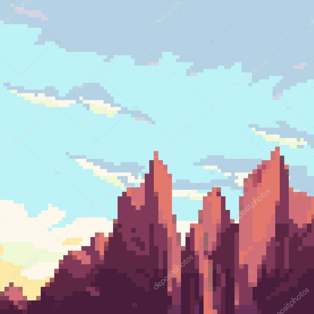 22+ 8 Bit Clouds Background Gif