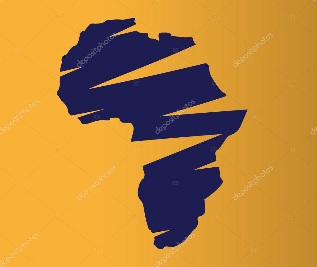 Map Of Africa Drawing.Map Of Africa Drawing Stock Vector C Sdcrea 125526730